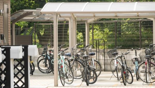 自転車の整頓