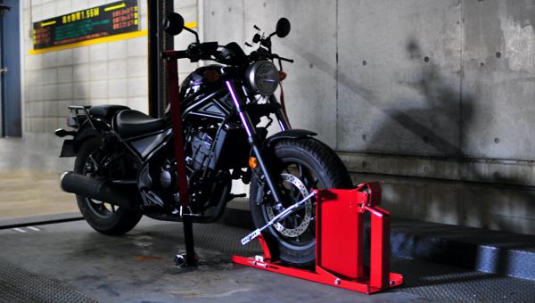 バイク駐車場のセキュリティ強化